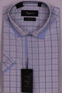 Изображение Молодежная рубашка с декоративным воротником