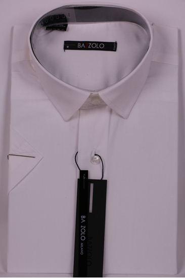 Изображение Молодежная однотонная бежевая рубашка
