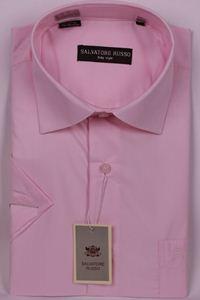 Изображение Классическая однотонная розовая рубашка