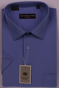 Изображение Классическая однотонная рубашка