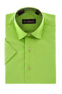 Изображение Детская однотонная салатовая рубашка