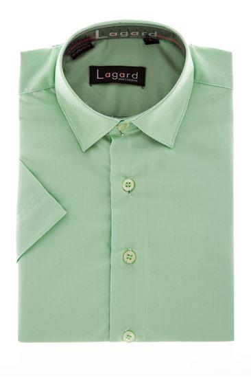 Изображение Детская однотонная рубашка