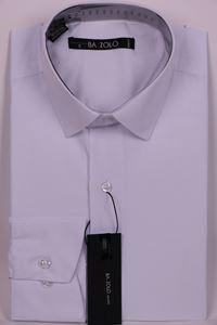 Изображение Однотонная белая рубашка