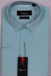 Изображение Молодежная однотонная рубашка