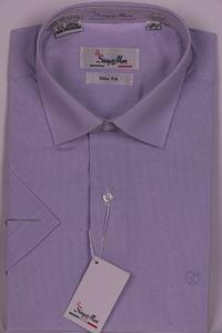 Изображение Молодежная рубашка в мелкую полоску