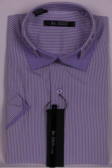 Изображение Молодежная рубашка с декоративной отделкой