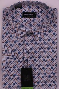 Изображение Молодежная рубашка в мелкий рисунок