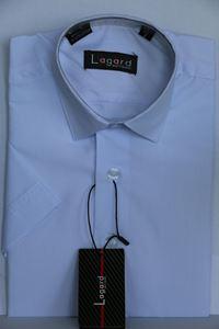 Изображение Детская однотонная белая рубашка