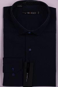 Изображение Молодежная комбинированная рубашка