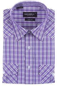 Изображение Молодёжная рубашка с коротким рукавом