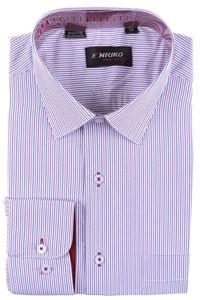 Изображение Классическая рубашка в полоску с длинным рукавом