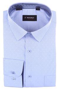 Изображение Классическая рубашка с длинным рукавом