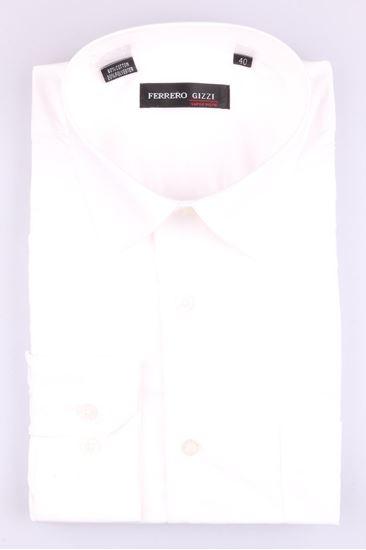 Изображение Классическая рубашка однотонная
